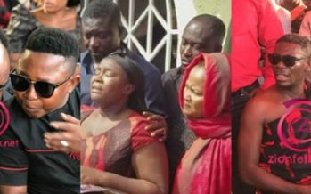 These Photos of Kumawood Stars who Came to Maame Serwaa's Funeral Show they are United