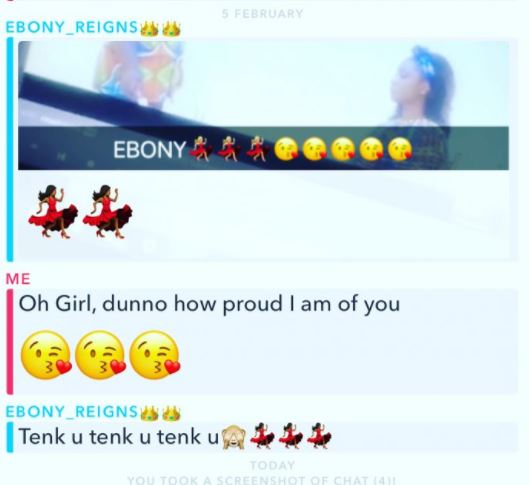 Ebony chat line