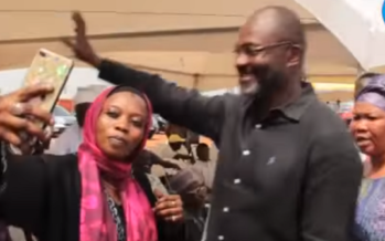 Crowd Goes Crazy at Alhaji Bature's Funeral after Seeing Kennedy Agyapong