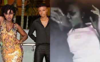 This Video of 2 Girls Kissing Could be Ebony and her Alleged L.esbian Partner, Kuri