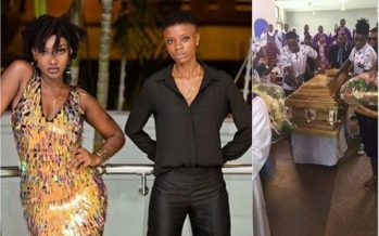 These Photos from Ebony's Friend, Frank Kuri's Burial/Funeral will Make you Cry