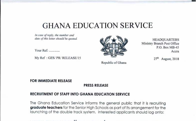 How to write an application letter in ghana